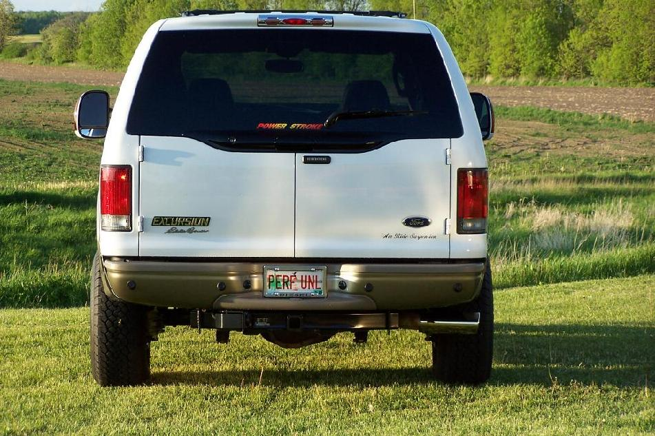 2004 Ford Excursion Project Site Exterior Photos Rear