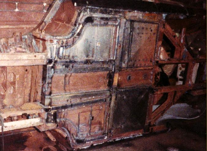 1972 Ford Detomaso Pantera P 3385 Restoration Process